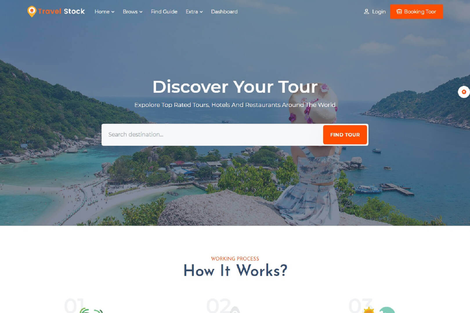 Travel Stock Creative Tour & Travel Agency Template