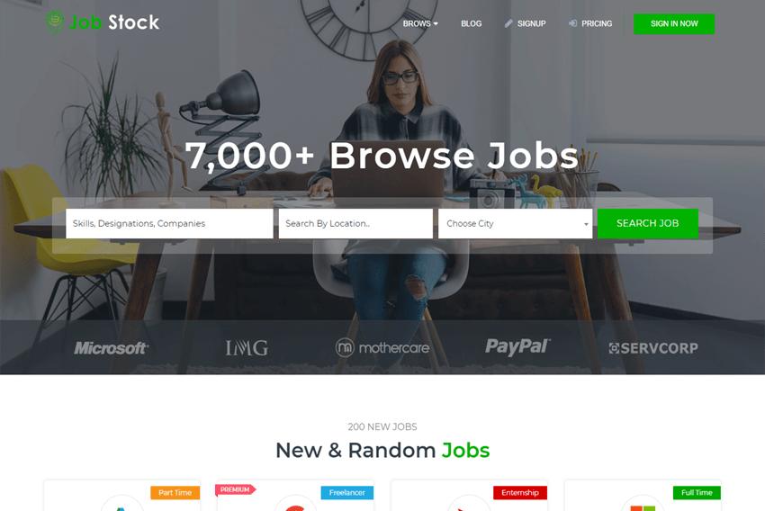 Besplatni web web predlošci za preuzimanje